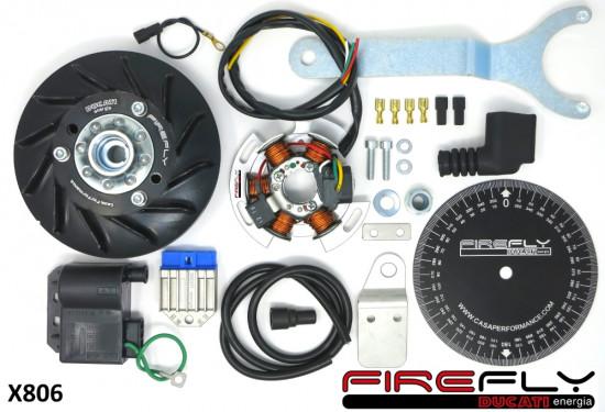 Accensione elettronica Ducati Firefly 12v 90w per Lambretta J + Lui