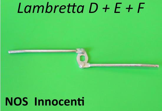 Meccanismo NOS Innocenti serratura coperchio bauletto posteriore Lambretta D + E + F