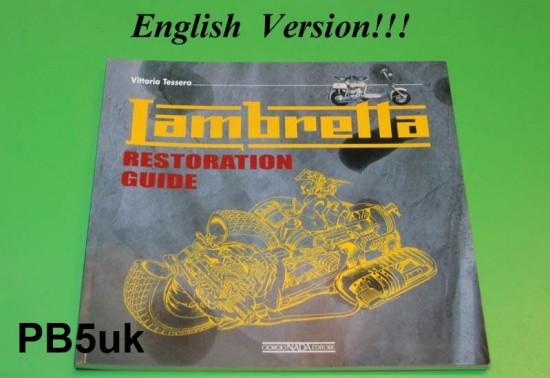 Manuale di restauro Lambretta di Vittorio Tessera (versione inglese)