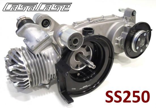 Motore Casa Performance SS250 parzialmente assemblato per Lambretta S1 + S2 + S3 + SX + DL + Serveta
