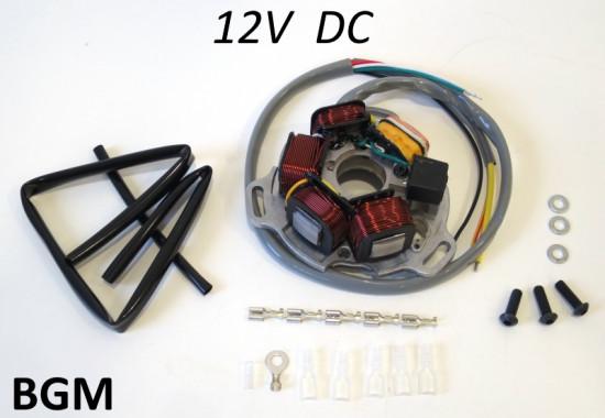 Statore BGM 12V 120W CC per accensione elettronica BGM, AF Rayspeed, Innocenti, SIL