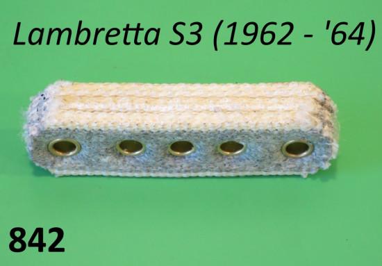 Supporto bobina in feltro Lambretta S1 + S2 + S3