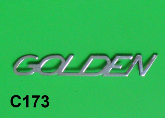"""Scritta """"Golden"""""""