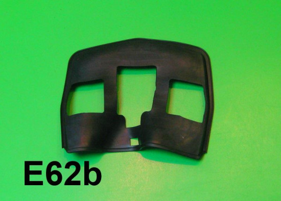 Guarnizione fanale posteriore nera Lambretta DL