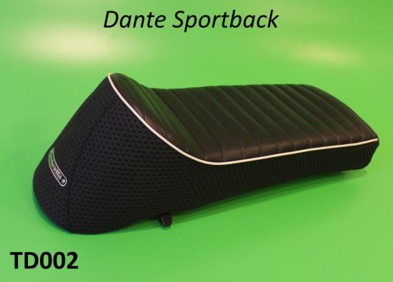 Sella sportiva monoposto 'Dante Sportback' (nera)