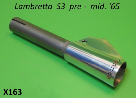 Manicotto cambio al manubrio a '5' marce Lambretta S3 pre - metà '65.