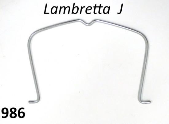 Molla fissaggio filtro aria nel telaio per Lambretta J (versioni '64-'66)