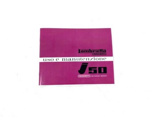 Libretto uso e manutenzione Lambretta J125 M4