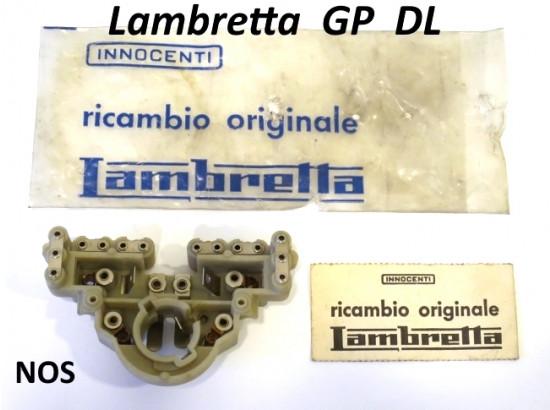Morsettiera ORIGINALE NOS Innocenti CEV fanale anteriore Lambretta DL + Lui 75S/SL