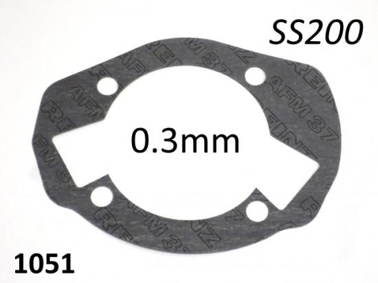 Guarnizione spessa 0.3mm base cilindro per kit SS200 di Casa Performance