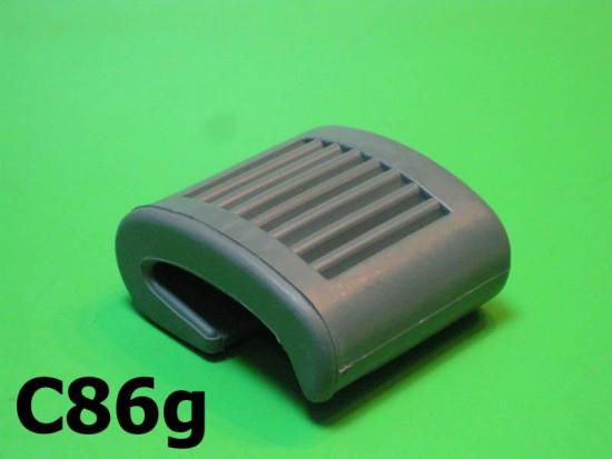 Protezione pedale avviamento grigio
