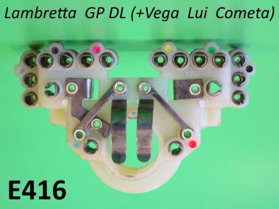 Morsettiera tipo CEV per fanale anteriore DL + Lui 75S/SL