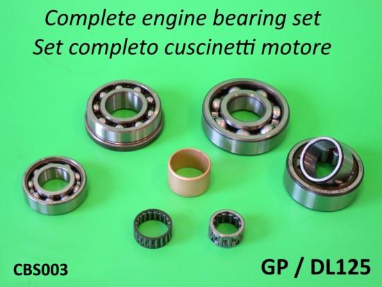Kit completo cuscinetti motore di alta qualità per Lambretta DL 125cc