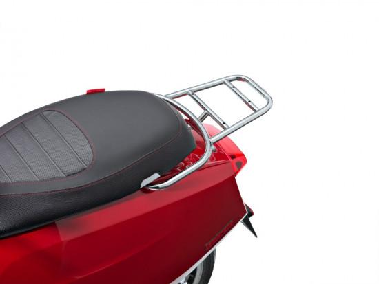 Supporto bauletto posteriore cromato per Nuova Lambretta