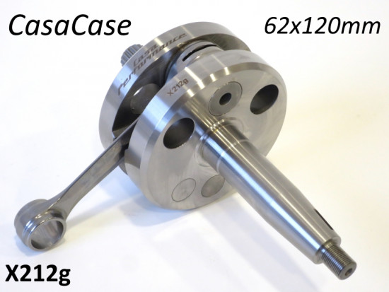 Albero motore Casa Performance 62mm x 120mm per blocco motore CasaCase