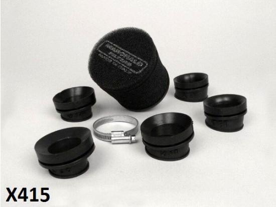 Filtro in spugna nero BGM Marchald d.100x85mm