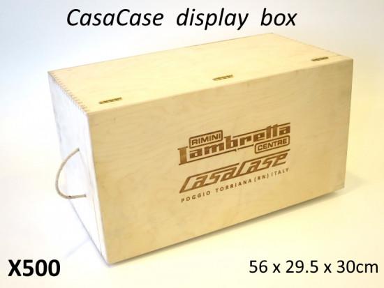 Cassa imballaggio / esposizione in legno per CasaCase