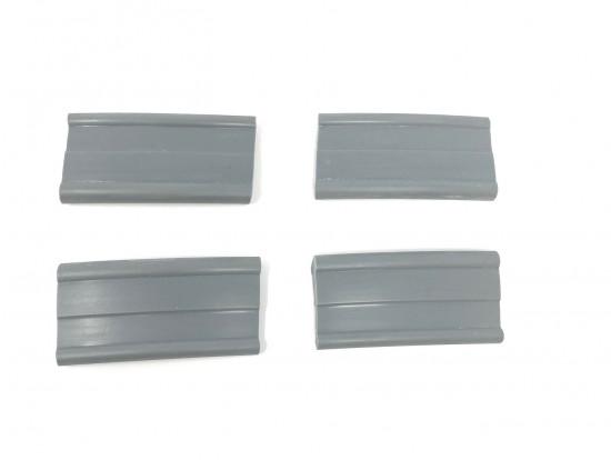 Serie spessori serbatoio grigi