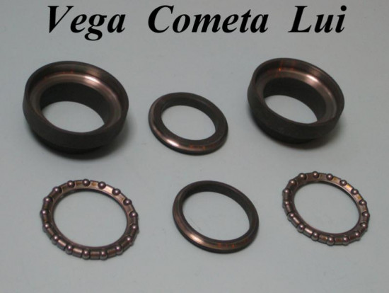 Serie calotte + gabbie sterzo Lui Vega Cometa