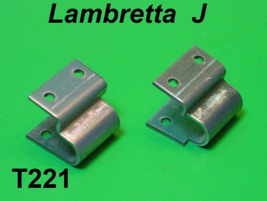 Staffe fissaggio cavalletto Lambretta J