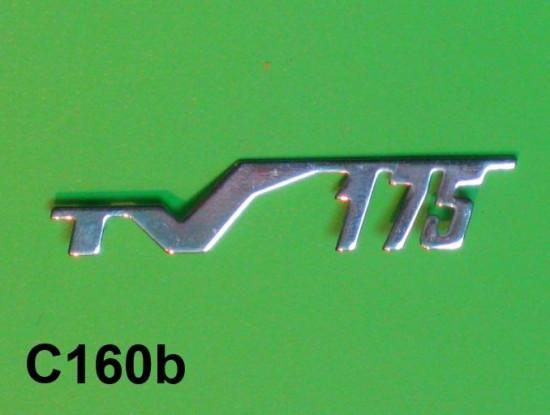 Scritta 'TV175' per scudo anteriore