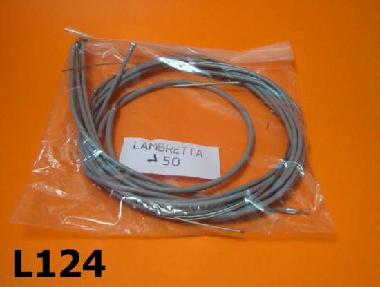 Kit guaine e cavi completo Lambretta J 50-100-125