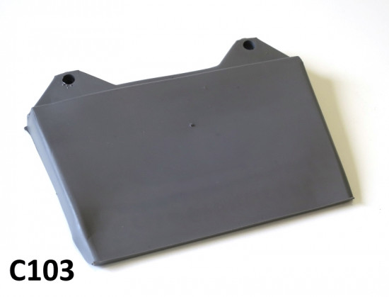 Paraspruzzi posteriore grigio per Lambretta S3 + TV3 + Special + SX