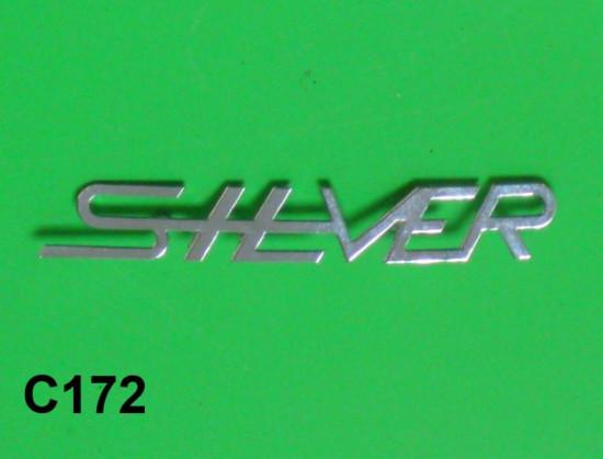 Scritta 'Silver' per scudo per Lambretta S3 Silver Special