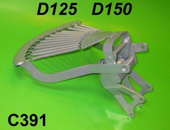 Telaio sella posteriore, senza copertina, per Lambretta D 125/150cc