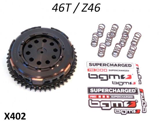 Frizione BGM Pro Superstrong 46z Lambretta S1 + S2 + S3 + SX + DL + Serveta