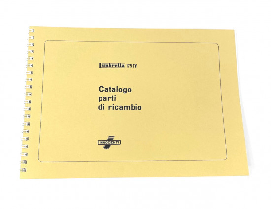 Catalogo ricambi Lambretta TV175 S1