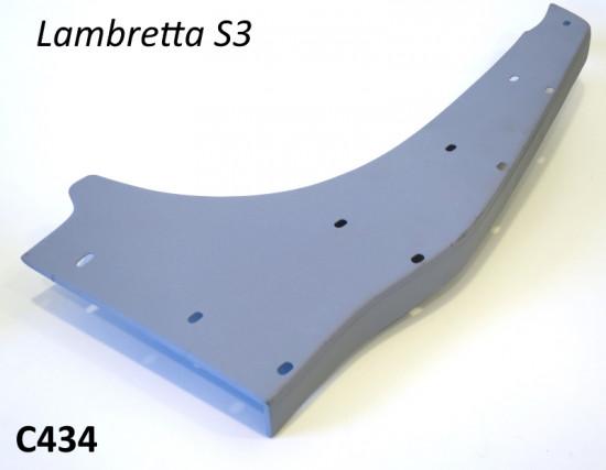 Pedana posteriore sinistra (lato volano) per Lambretta S3 + TV3 + Special + SX + Serveta