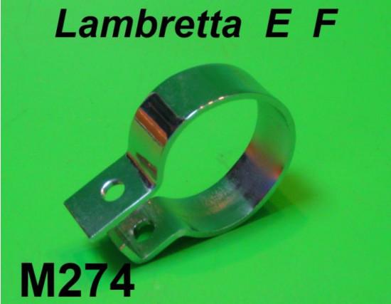 Fascetta cromata marmitta E-F