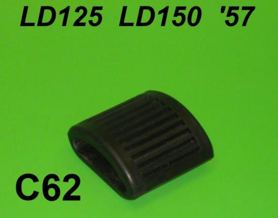 Protezione pedale avviamento piatto Lambretta LD