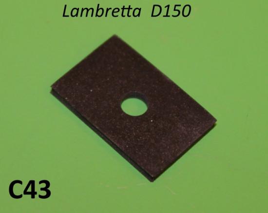Guarnizione staffa porta targa Lambretta D150