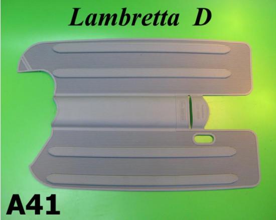 Tappetino in gomma grigio Lambretta D