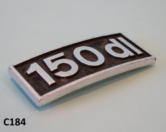 Scritta '150DL' per scudo