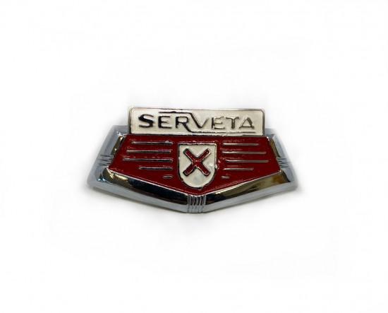 """Scudetto anteriore """"Serveta"""" Lambretta Serveta"""