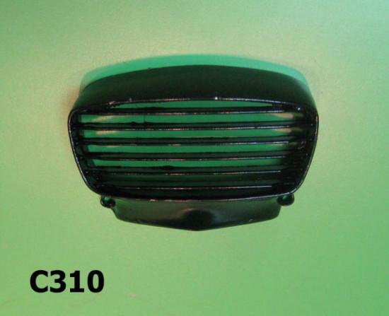 Mascherina claxon in metallo per Lambretta GP DL