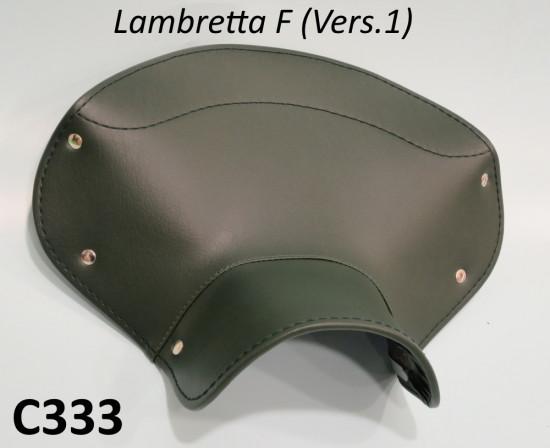 Copertina sella anteriore + posteriore verde per Lambretta F Vers.1