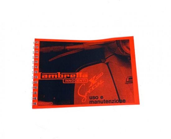 Libretto 'Uso e Manutenzione' Lambretta SX150