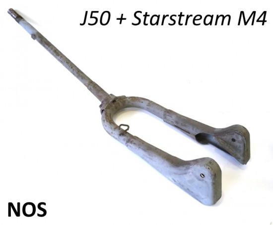 Forcella anteriore originale NOS per Lambretta J50 + M4 Stellina