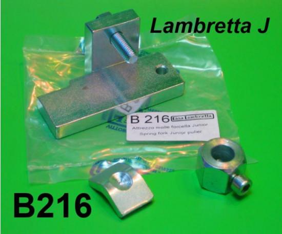 Attrezzo per molle forcella per Lambretta J + Lui