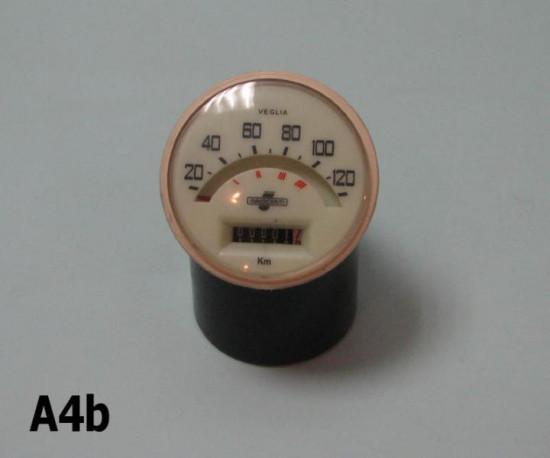Contachilometri scala 120 Km/h Lambretta TV175 S2