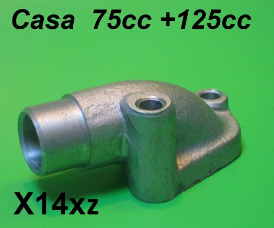 Collettore carburatore SHB 16mm + 18mm + 19mm Lambretta J50 + Cento + J125 + Kit Casa 75cc