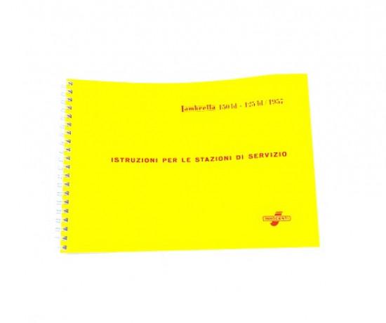 Manuale di officina Lambretta LD '57