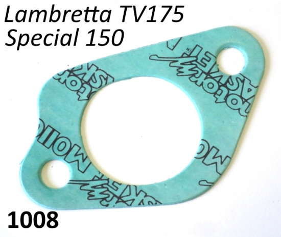 Guarnizione collettore aspirazione per Lambretta TV2 + TV3 + Special 150