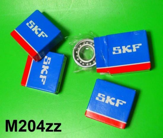 Set di 4 cuscinetti per albero motore + ruota posteriore 6203 (alte qualità)