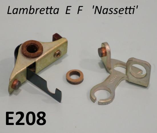 Puntine volano Nassetti Lambretta E + F