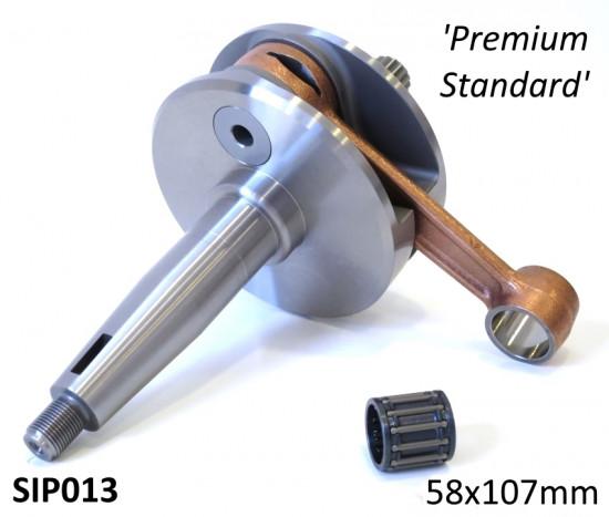 Albero motore SIP cono grosso DL versione 'Standard Premium' corsa 58mm / biella 107mm